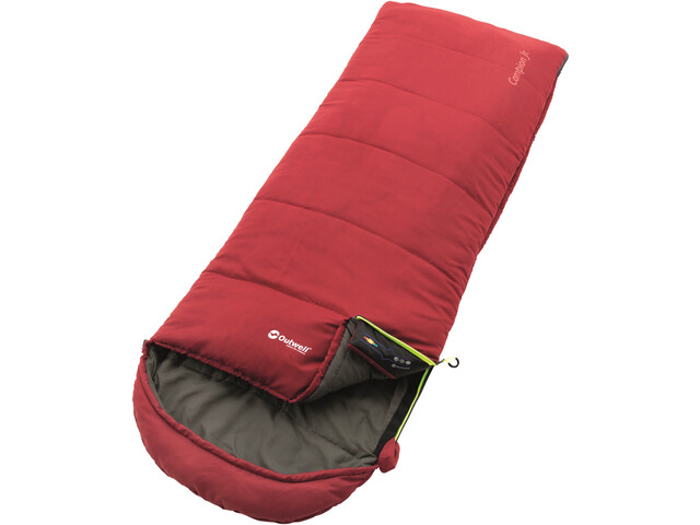 Outwell Campion Sac de couchage Enfant, red